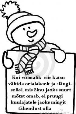 Kas teadsid, et Pärnus lumi pakib?