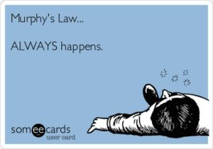 Esinemishirm ja Murphy seadused